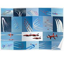 Red Arrows 2014 - 50 Display Seasons Poster