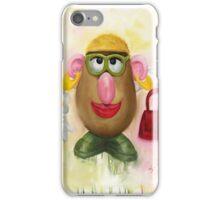 Mrs Potato Head - she's found her eyes! iPhone Case/Skin