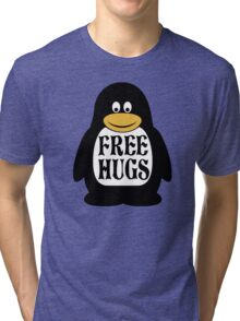 Hugs the Penguin Tri-blend T-Shirt