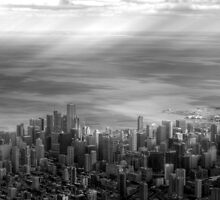 Aerial Chicago by Adam Kuehl