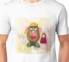 Mrs Potato Head - she's found her eyes! Unisex T-Shirt