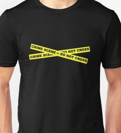Crime Scene - Do Not Cross Unisex T-Shirt