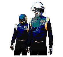 Daft Punk F1 Photographic Print