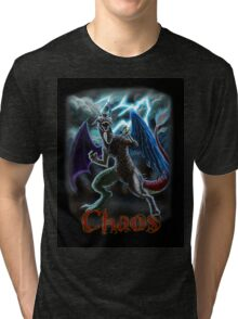 The Reigning King of Chaos Tri-blend T-Shirt