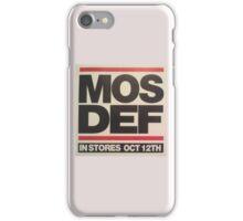 mos def sticker iPhone Case/Skin