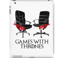 Games with Thrones iPad Case/Skin