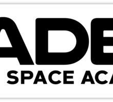 Cadet Royal Space Academy  Sticker