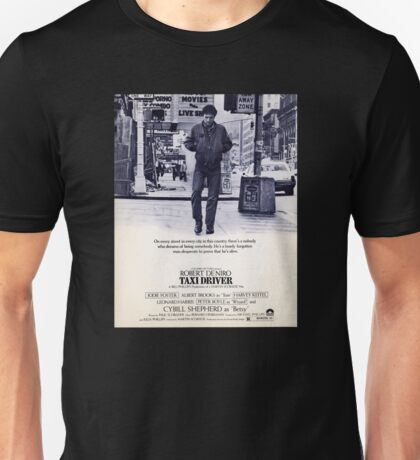 Taxi Driver Poster Unisex T-Shirt