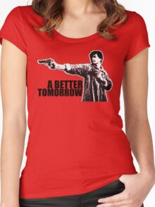 A Better Tomorrow Women's Fitted Scoop T-Shirt