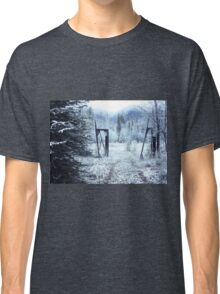 Entrance to Winter Wonderland Classic T-Shirt