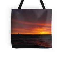 Mini Toronto sunset Tote Bag