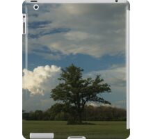 Tree in a field iPad Case/Skin