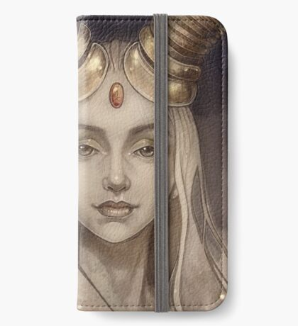 Zodiac Capricorn iPhone Wallet