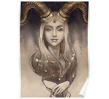 Zodiac Capricorn Poster