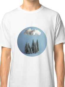 A cloud over the forest Classic T-Shirt