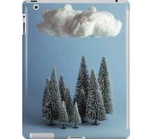 A cloud over the forest iPad Case/Skin