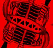 13 Red Card Sticker