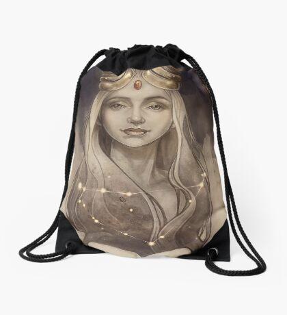 Zodiac Capricorn Drawstring Bag