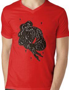 Star Mama Mens V-Neck T-Shirt
