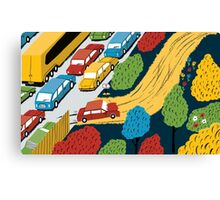 The road less travelled Canvas Print
