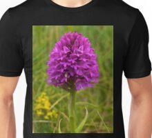 Pyramidal Orchid, Inishmore, Aran Islands  Unisex T-Shirt