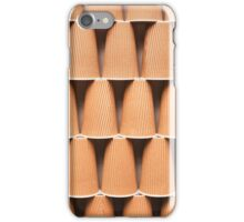 stacked coffee cups iPhone Case/Skin
