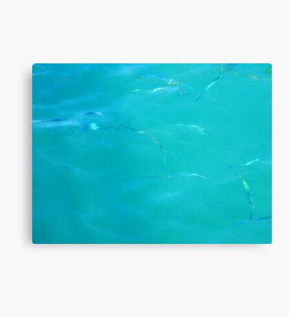 Fishy Sea Canvas Print