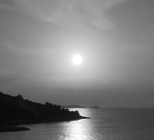 Sunset in black & white by 60nine