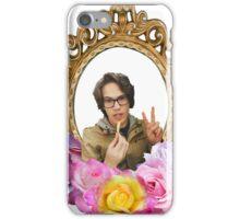 Maxmoefoe Flower Frame iPhone Case/Skin