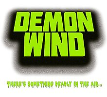 Demon Wind - Deadly Smell Horror T-Shirt Photographic Print