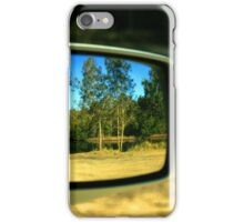 Car Mirror Reflection iPhone Case/Skin