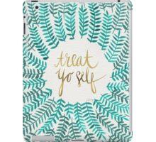Treat Yo Self – Gold & Turquoise iPad Case/Skin
