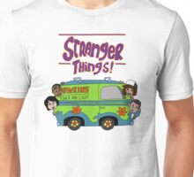 Scooby Did Strange Things Unisex T-Shirt