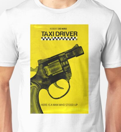 Taxi Driver Minimalist Poster Unisex T-Shirt