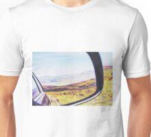 road trip in the desert Unisex T-Shirt