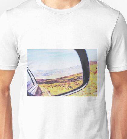 road trip in the desert Unisex T-Shirt