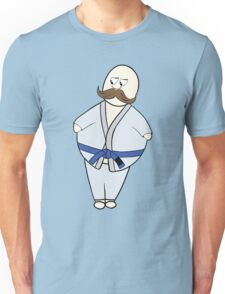 Brazilian Jiu-Jitsu Fatman Cartoon Unisex T-Shirt
