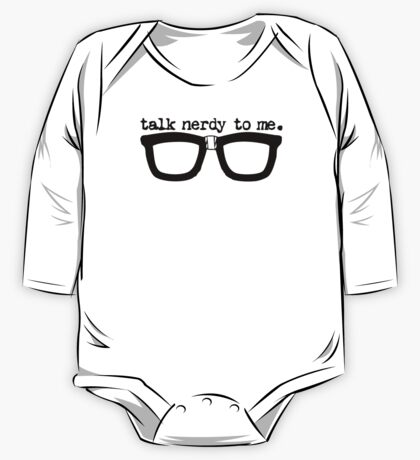 Talk Nerdy To Me One Piece - Long Sleeve