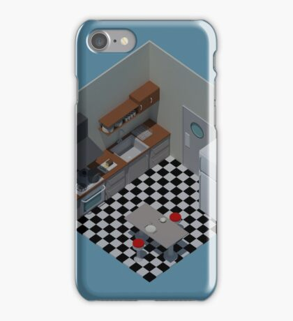 Isometric Kitchen iPhone Case/Skin