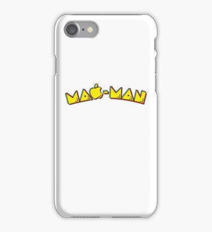 Mac-Man end-user title mashup iPhone Case/Skin