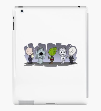 Doctor Who Monsters ... Peanuts Style iPad Case/Skin