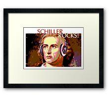 Schiller Rocks! Framed Print