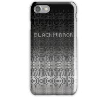 Black Mirror - Anonymous shape iPhone Case/Skin