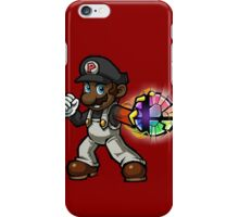 Black Mario - Final Smash iPhone Case/Skin