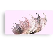 Pink and Gray Bug Metal Print