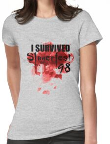 Buffy the Vampire Slayer Slayerfest 98 Womens Fitted T-Shirt