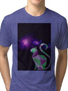 Intergalatic Cat Tri-blend T-Shirt