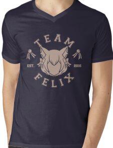 Team Felix Mens V-Neck T-Shirt