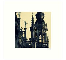 Architecture of Brussels Art Print