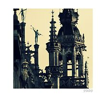 Architecture of Brussels by stado